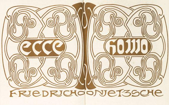 Henry van de Velde - Ecce Homo. 1908