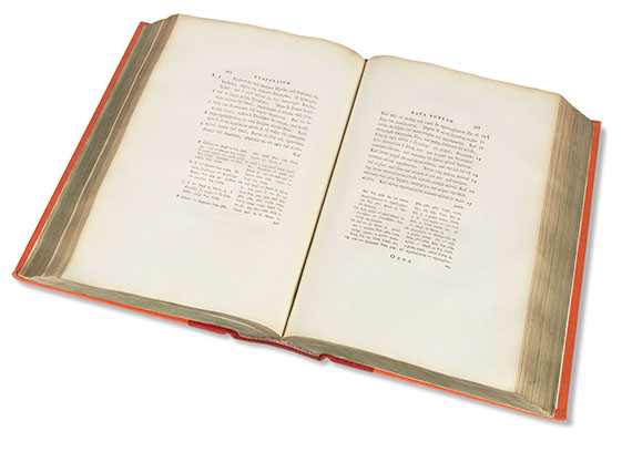- Quatuor evangelia graece. 1788.. - Weitere Abbildung