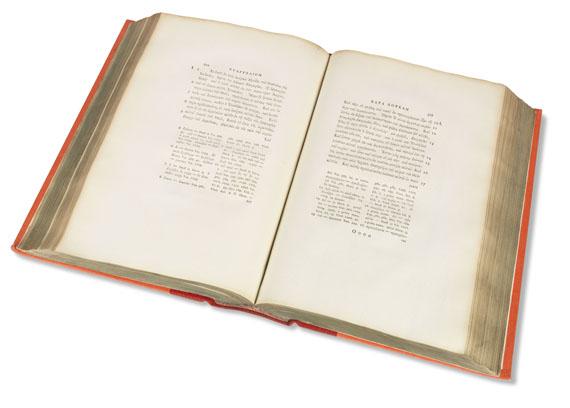 Biblia graeca - Quatuor evangelia graece. 1788..