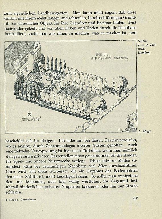 Leberecht Migge - Die Gartenkultur des 20. Jahrhunderts. 1913