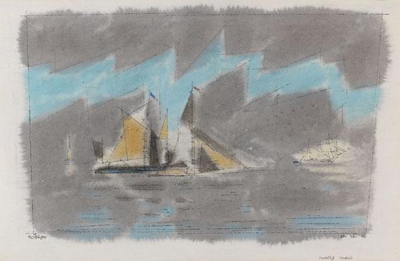 Lyonel Feininger - Coasting Vessels