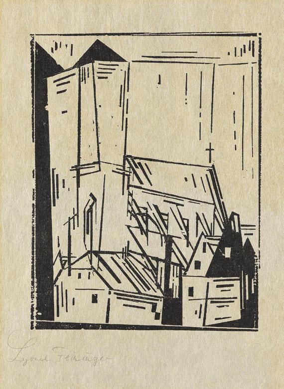 Lyonel Feininger - Sankt Nikolai