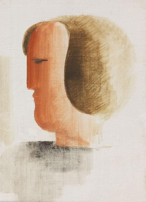Oskar Schlemmer - Kopf nach links