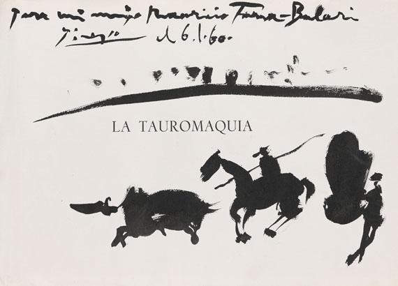 Pablo Picasso - La Tauromaquia