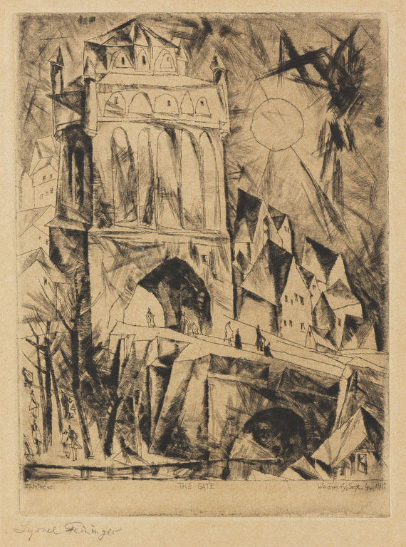 Lyonel Feininger - The Gate (Das Tor)