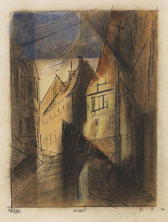 Lyonel Feininger - Wolgast