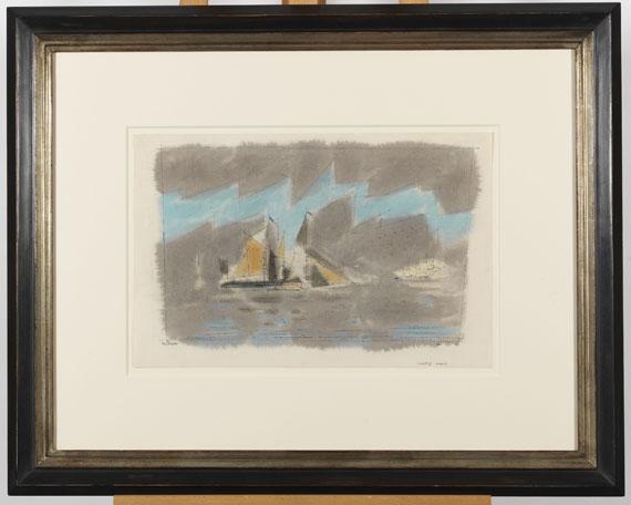 Lyonel Feininger - Coasting Vessels - Rahmenbild