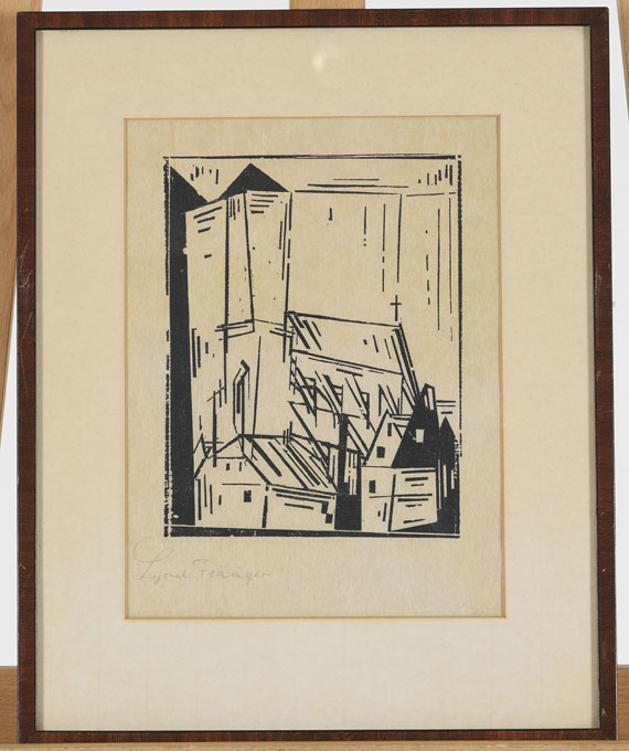 Lyonel Feininger - Sankt Nikolai - Rahmenbild