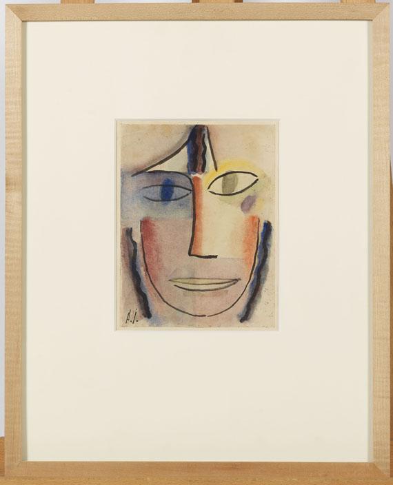 Alexej von Jawlensky - Frauenkopf Femina - Rahmenbild