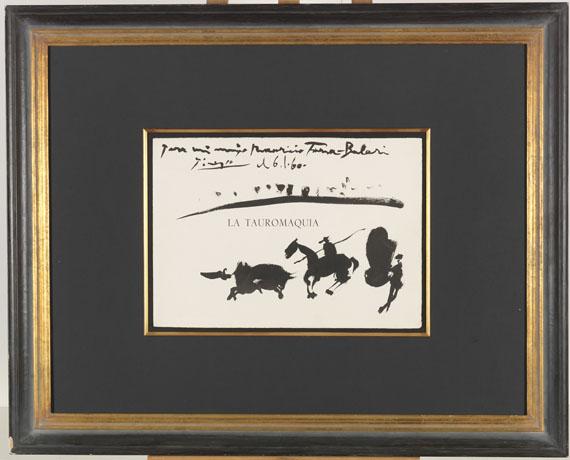 Pablo Picasso - La Tauromaquia - Rahmenbild