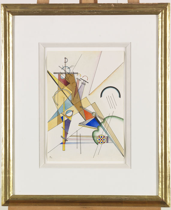 Wassily Kandinsky - Gewebe - Rahmenbild