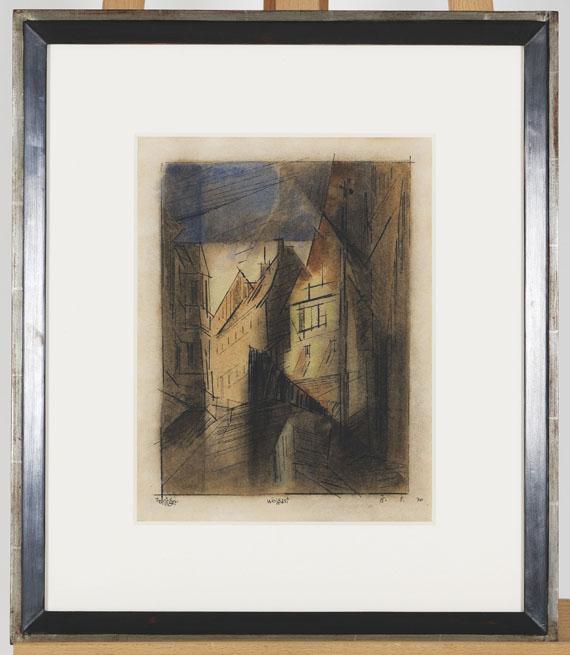 Lyonel Feininger - Wolgast - Rahmenbild