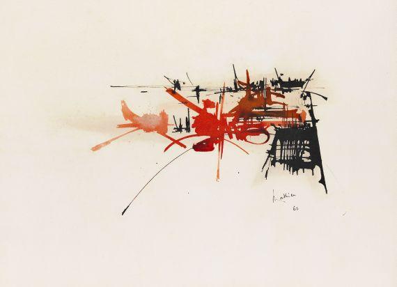 Georges Mathieu - Komposition