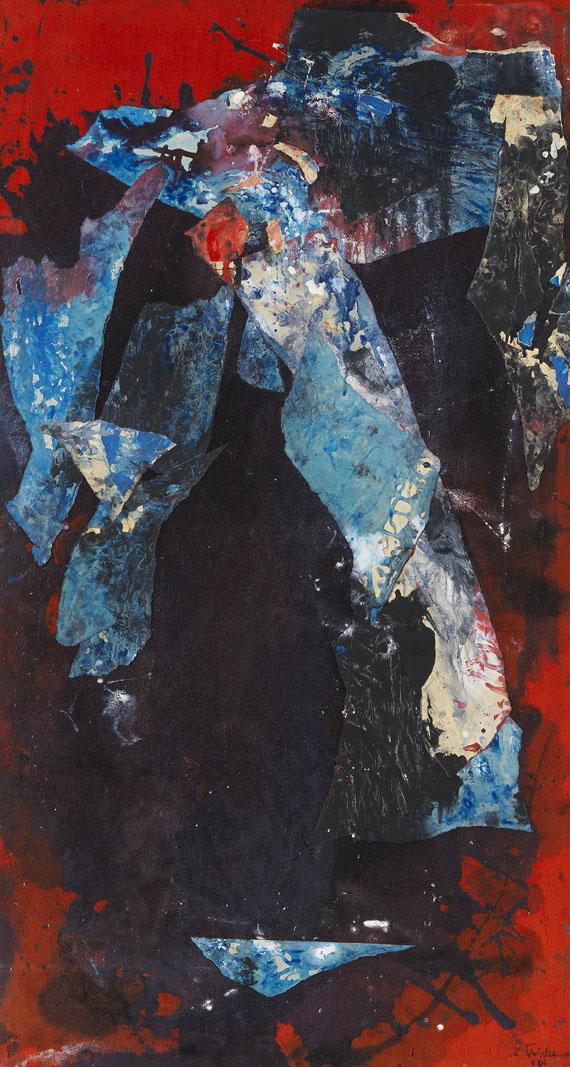 Fred Thieler - Triptychon - Weitere Abbildung