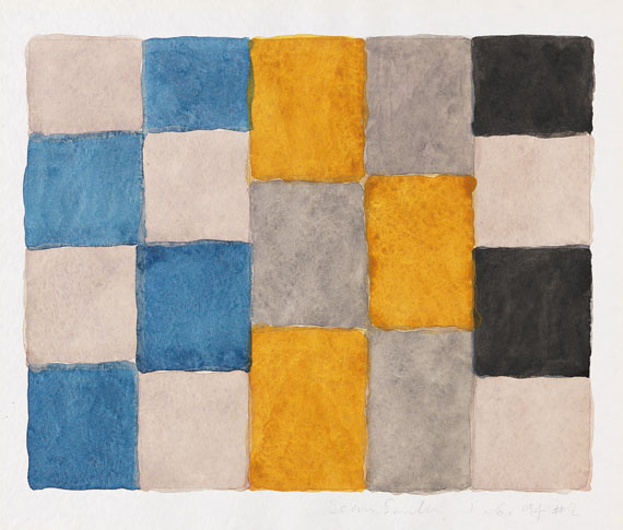 Sean Scully - 1.6.94#2