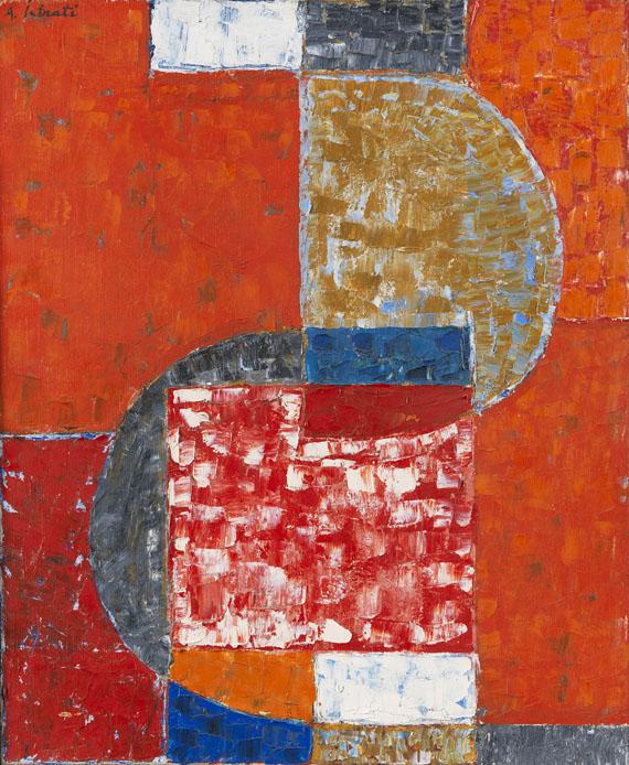 Alexander Istrati - Forms en Rouge