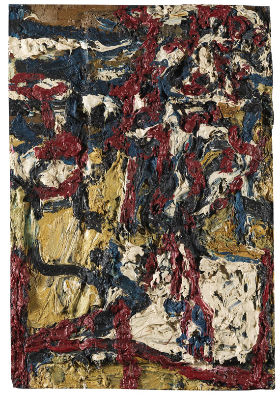 Frank Auerbach - J.Y.M. in the Studio II