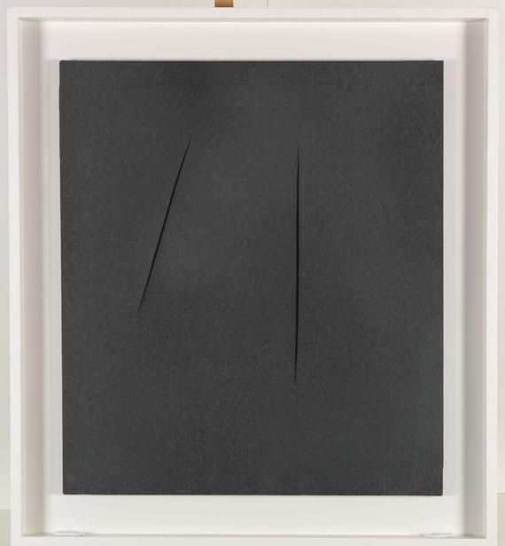 Lucio Fontana - Concetto Spaziale, Attese - Frame image