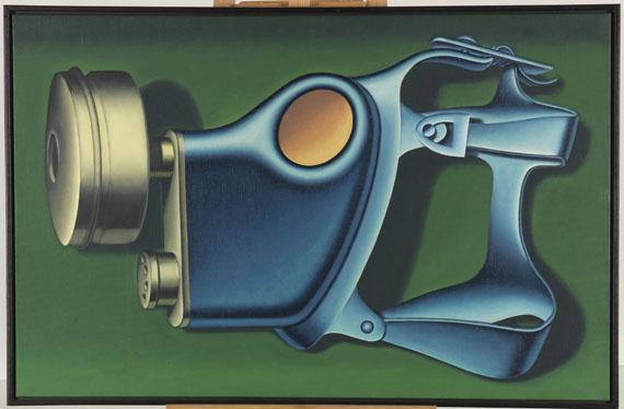 Konrad Klapheck - Die Party - Frame image