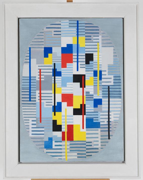 Adolf Richard Fleischmann - Ohne Titel - Frame image