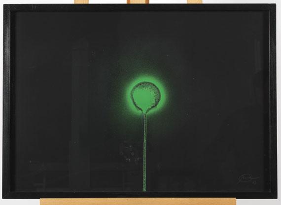 Otto Piene - Weithin sichtbar - Frame image