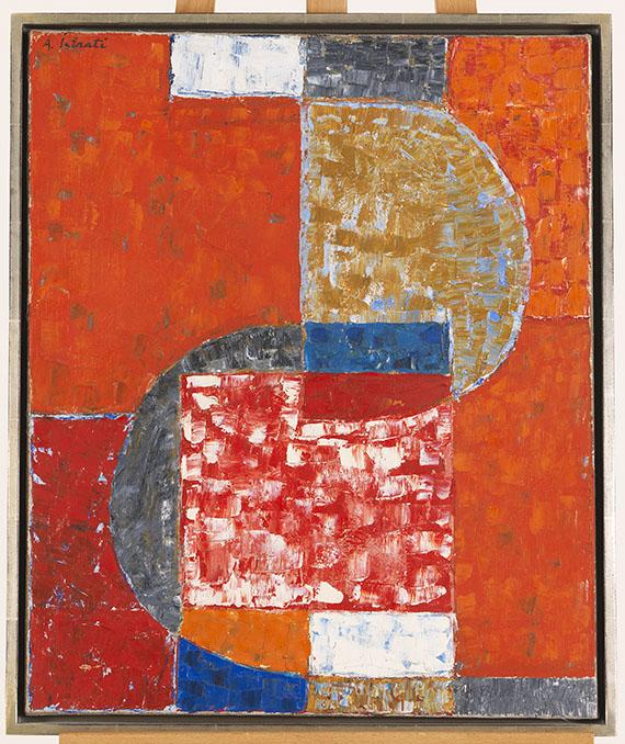 Alexander Istrati - Forms en Rouge - Rahmenbild