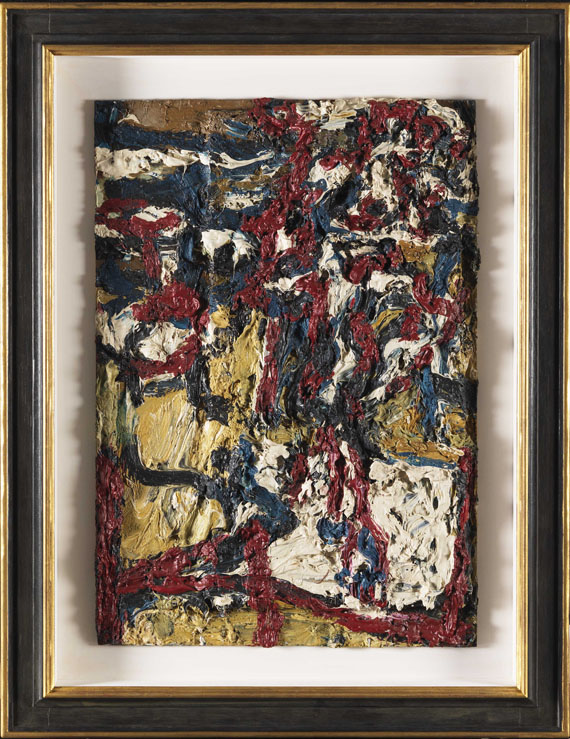 Frank Auerbach - J.Y.M. in the Studio II - Frame image