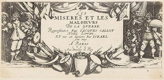 Jacques Callot - Les Misères et les Malheurs de la Guerre - Les Grands Misères de la Guerre