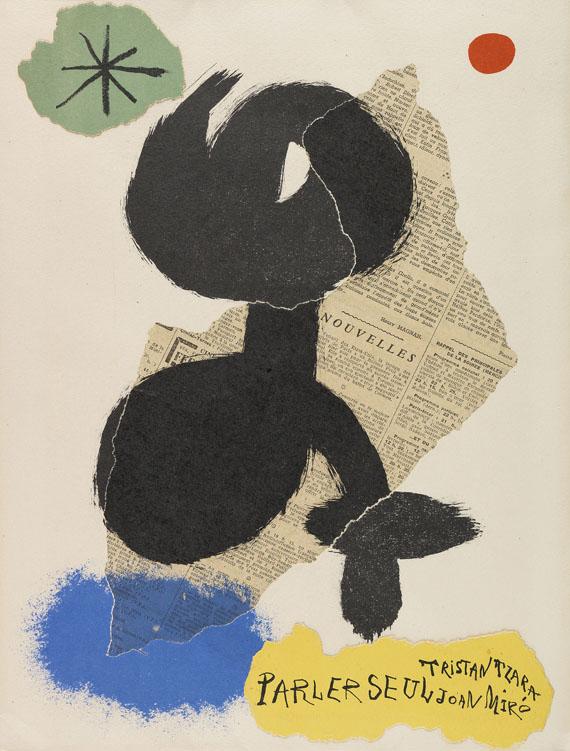 Joan Miró - Tzara, Parler seul. 1948-50.