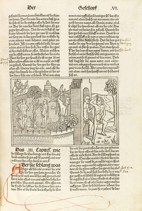 Biblia germanica - Neunte Deutsche Bibel. 1483. -