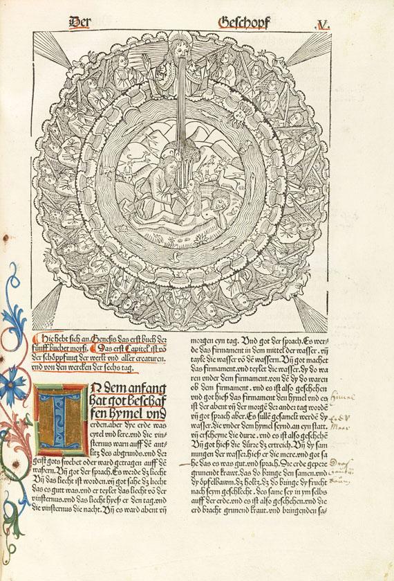 Biblia germanica - Neunte Deutsche Bibel. 1483.