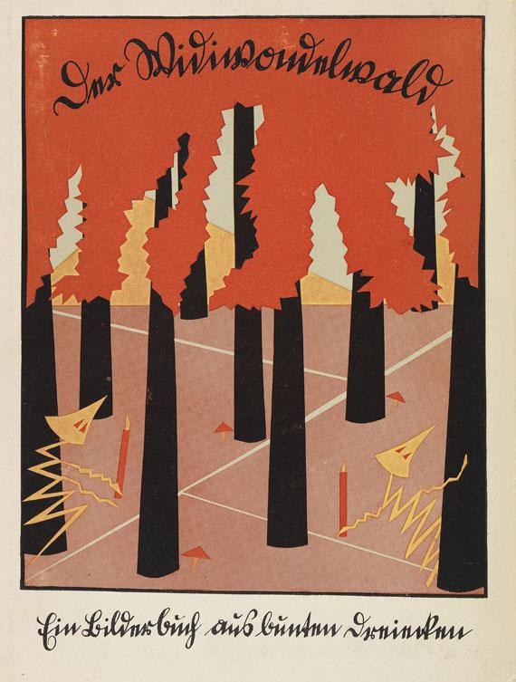 Hilde Krüger - Der Widiwondelwald. 1924 - Weitere Abbildung