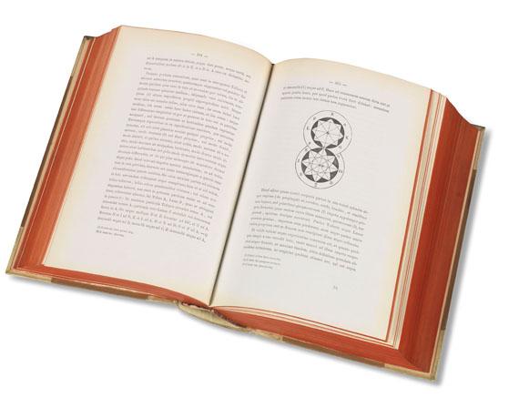 Giordano Bruno - Opera latine conscripta. 1879-91. 3 Bde. in 4.