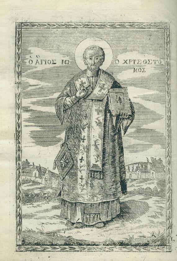 Chrysostomus Johannes - Lithurgie. 1820