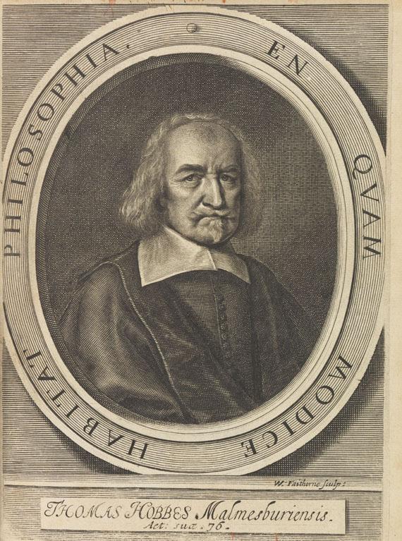 Thomas Hobbes - 2 Werke in 3 Bdn. 1668