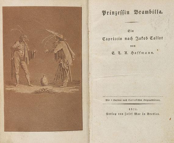 Ernst Theodor Amadeus Hoffmann - Prinzessin Brambilla. 1821