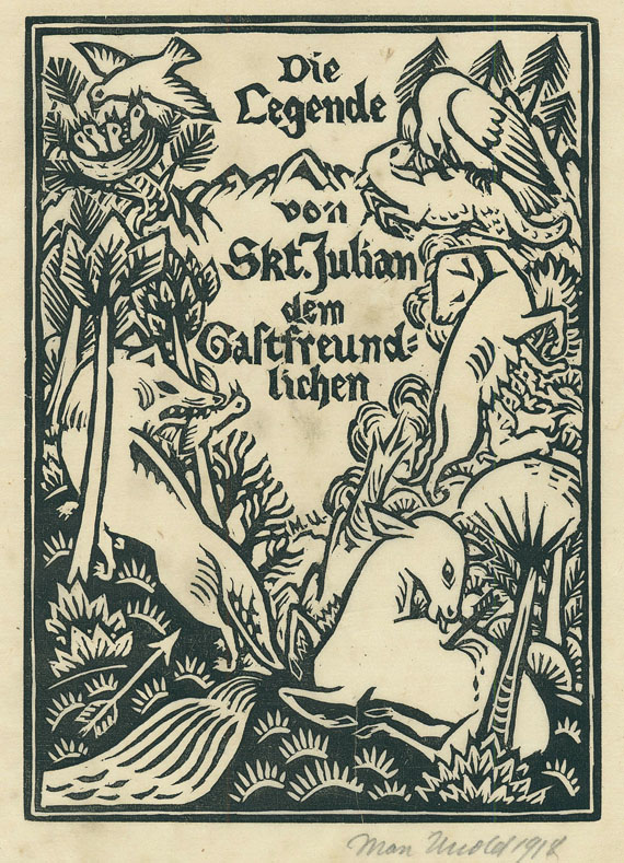 Gustave Flaubert - Die Legende von Skt. Julian dem Gastfreundlichen. 1918