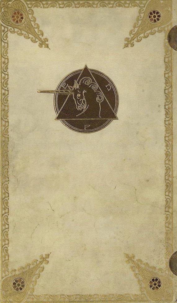 Melchior Lechter - Tagebuch der indischen Reise. 1912.
