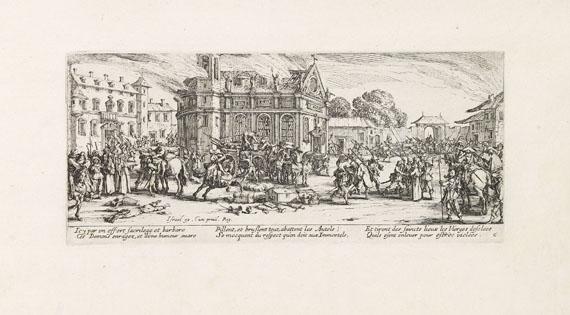 Jacques Callot - Les miseres et les mal-heurs de la guerre. 1633.