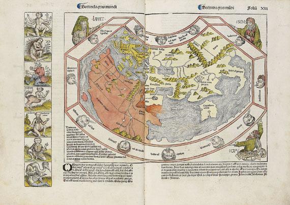 Hartmann Schedel - Weltchronik. 1493. Cincinnius-Exemplar.