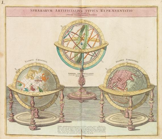 Johann Baptist Homann - Grosser Atlas uber die gantze Welt. 1725. 2 Bde.