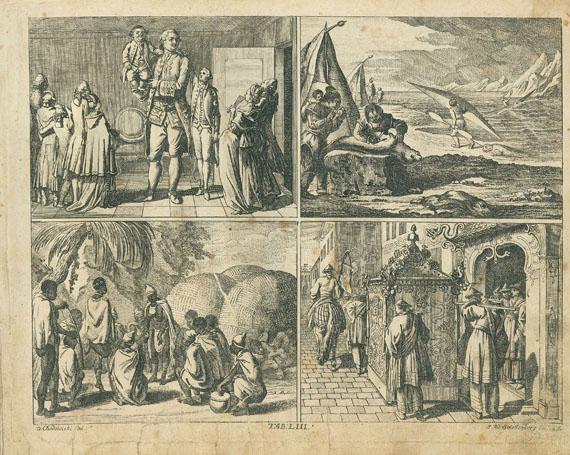 Johann Bernhard Basedow - Elementarwerk. 1785. 3 Bde. sowie Kupfersammlung. 1774