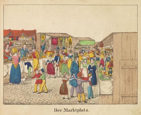 Reise zum Jahrmarkt, Die - Die Reise zum Jahrmarkt. 1834