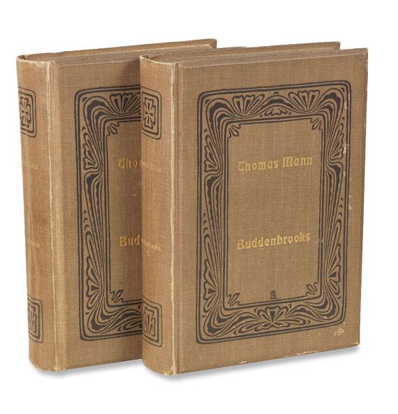 Thomas Mann - Buddenbrooks. 2 Bde. 1901.