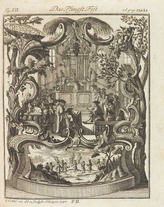 J. C. G. Bodenschatz - Kirchliche Verfassung der heutigen Juden. 1748 - Weitere Abbildung