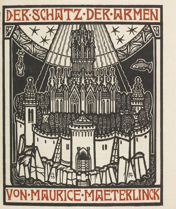 Melchior Lechter - Maeterlinck, Der Schatz der Armen. 1898