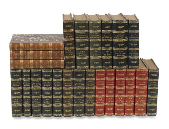 Karl Eduard Vehse - Geschichte der deutschen Höfe. 1851-59. 23 Bde.