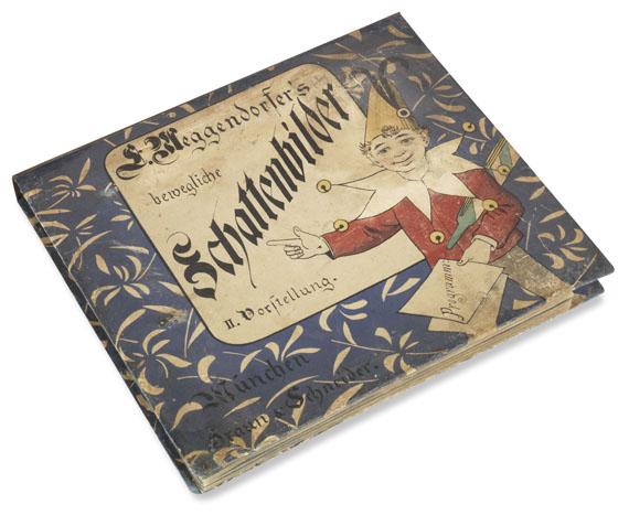 Lothar Meggendorfer - Bewegliche Schattenbilder. 1887 - Weitere Abbildung