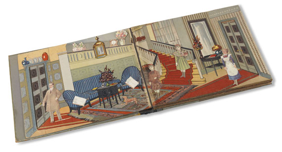 - Nürnberger Puppen-Stuben-Spiel-Buch. 1920 - Weitere Abbildung