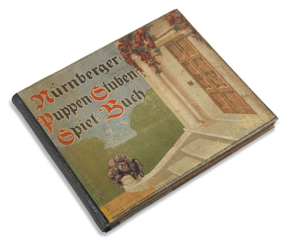 Nürnberger Puppen-Stuben-Spiel-Buch - Nürnberger Puppen-Stuben-Spiel-Buch. 1920